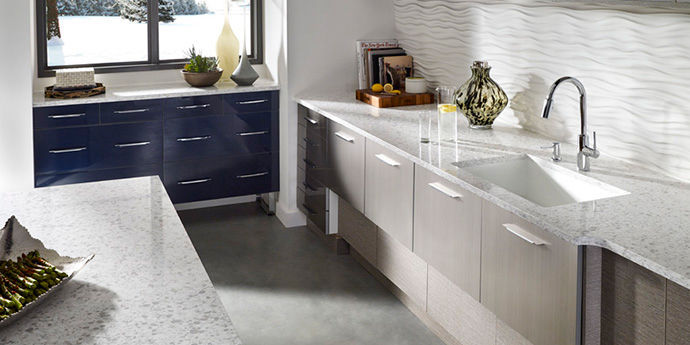 Charming Alpharetta Granite Quartz Countertop