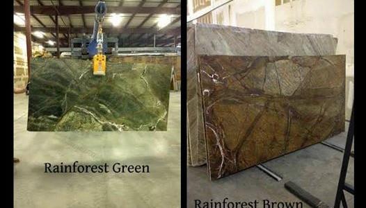 Rainforest Green U0026 Brown Granite Countertop Chattanooga
