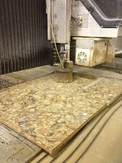 Waterjet Granite Countertop Chattanooga