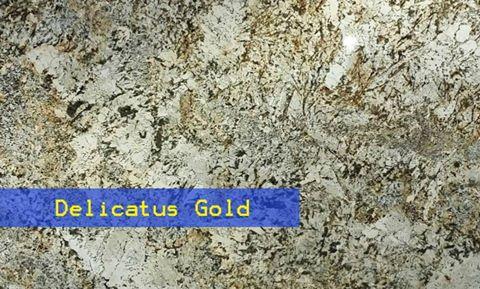 Delicatus Gold Granite Countertop Chattanooga