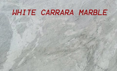 White Carrara Marble Granite Countertop Chattanooga