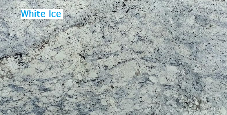 White Ice Granite Countertop Chattanooga