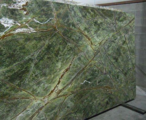 Rainforest Green Granite Countertop