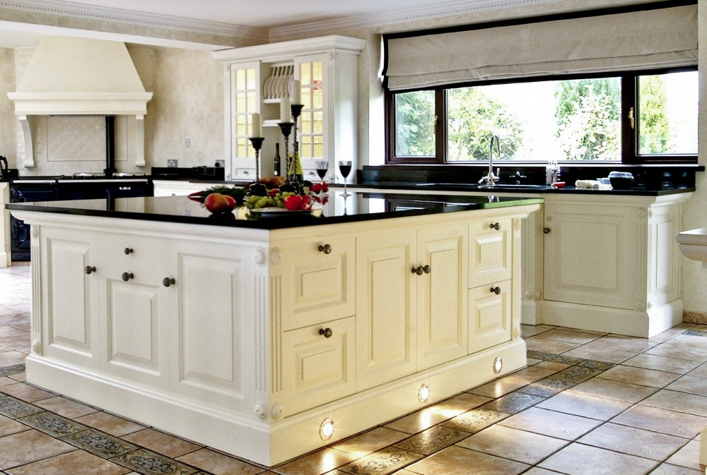 Black Granite Kitchen Design