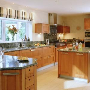 Green Granite Kitchen