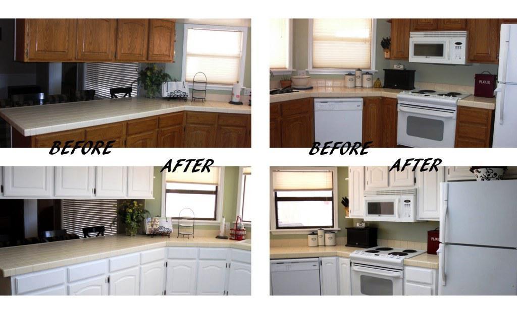 Как обновить фасады кухонного гарнитура своими руками 29
