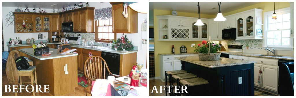 A Good Idea When Replacing And Updating Simple Kitchens