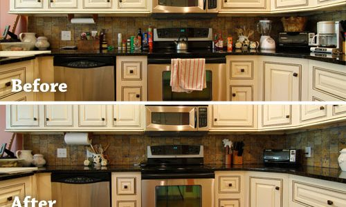 Counter Space Strategy kitchens