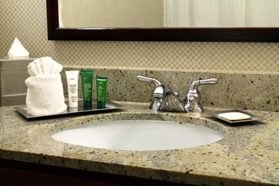 Consider Granite for your Bathroom Counters