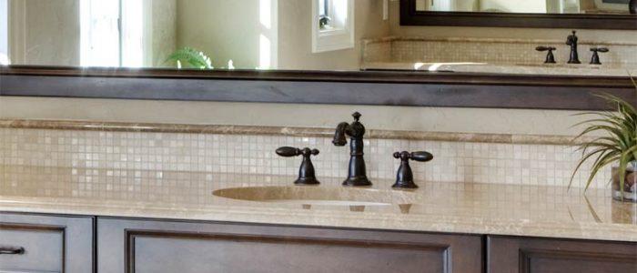 Bathroom Cabinets with Quartz Countertops