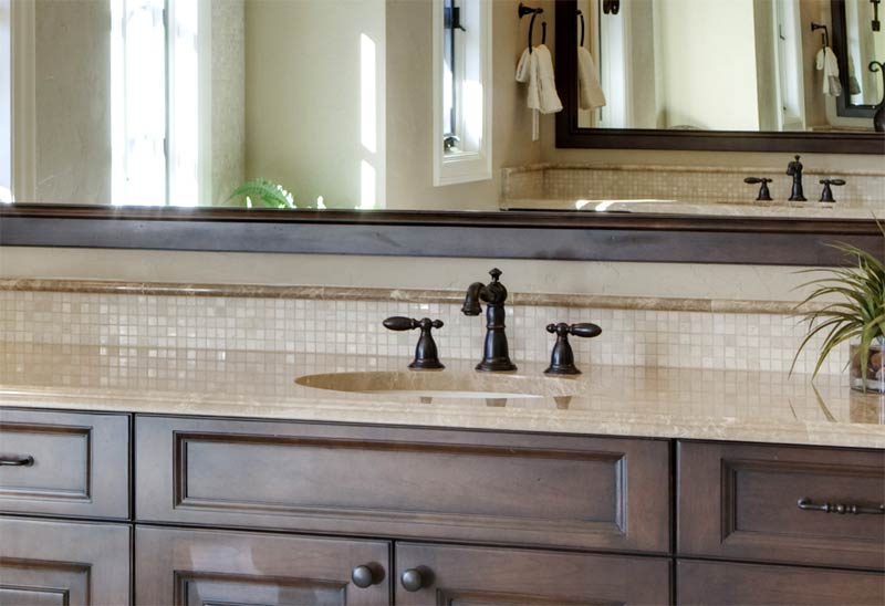 countertop cabinets for the bathroom a great way to improve the look of an out of date bathroom 14126