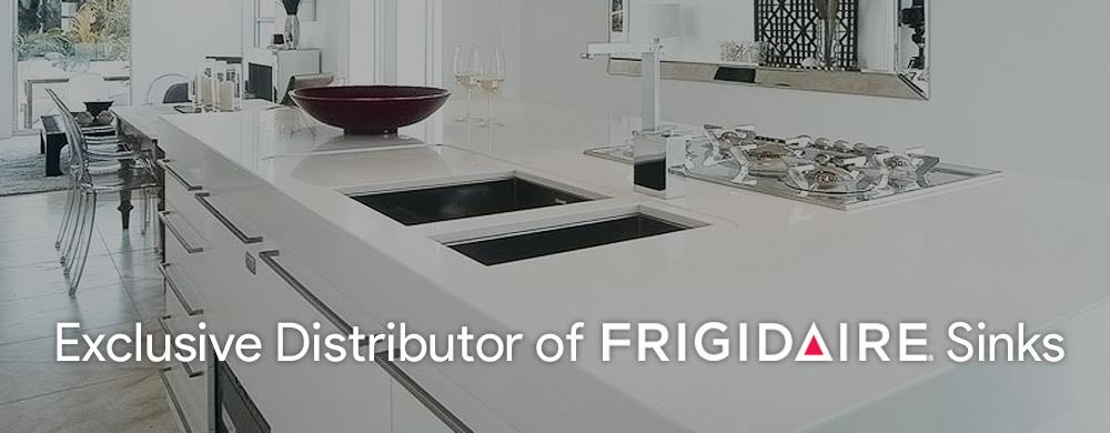Exclusive distributor of frigidaire sinks