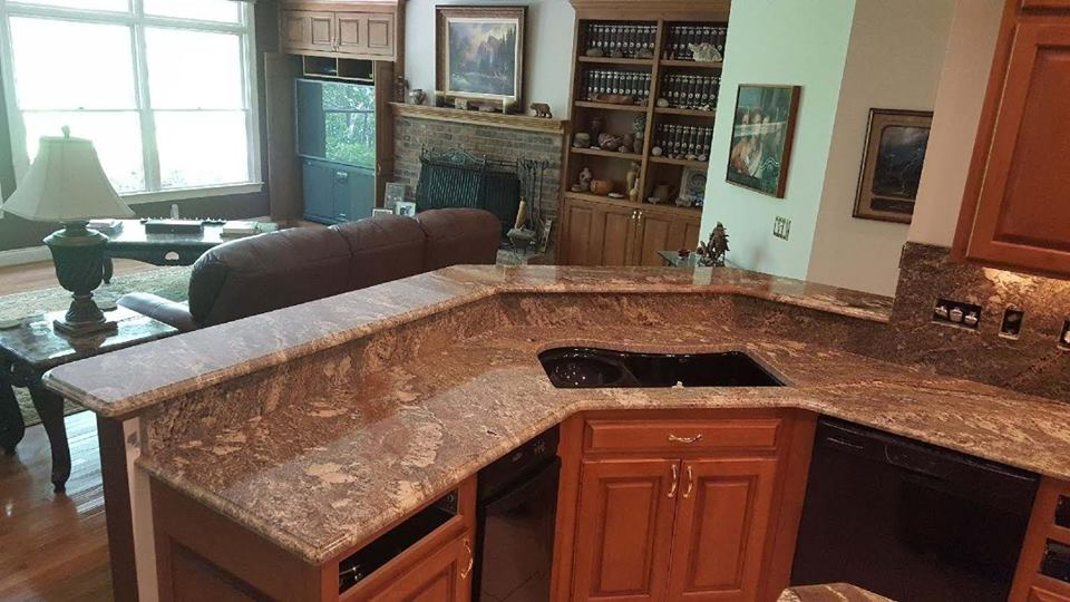 Beautiful Granite Or Quartz Kitchen